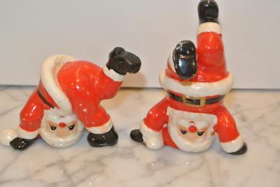 Vintage Upside Down Santas Figures Fitz And Floyd