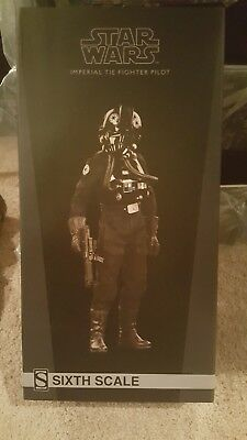 Sideshow Collectibles Star Wars Imperial Tie Fighter Pilot 1/6 scale figure