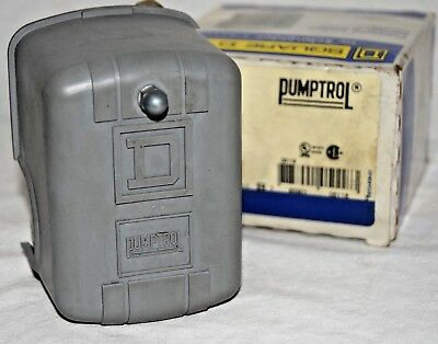 Square D Schneider Electric 9013FHG49J59X Air Or Water Pressure Switch