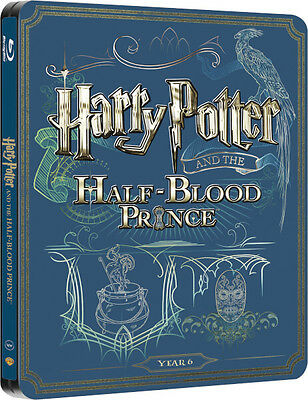Harry Potter and the Half-Blood Prince - Limited Edition Steelbook (Blu-ray)