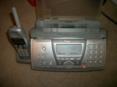 Panasonic KX-FPG376 2.4 GHz Phone/Fax/Copy/Answering Service with 3 refills
