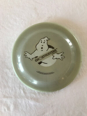Vintage 1986 Ghostbusters Movie ( Cereal Mail Order ) Frisbee Gray RARE