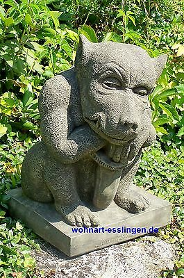 DS59 großer Sword Gargoyle orginal Devonshire Statuary