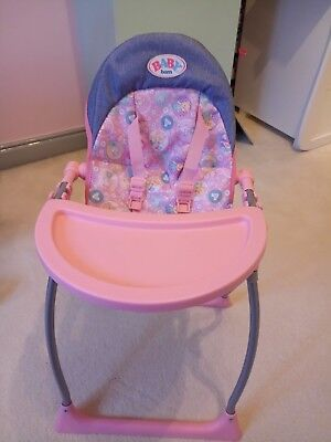 Baby Annabell High chair • £9.99 - PicClick UK