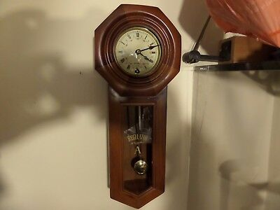 Fully Restored Vintage Striking Drop Dial Wall Clock 78 Photos Of Work On The Cd