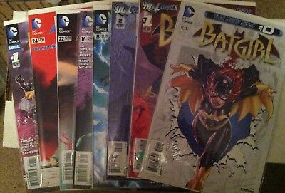 Batgirl New 52 Adam Hughes Cover DC VF+/VF Lot of 8 Comics Gail Simone