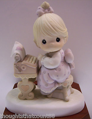 Precious Moments YOU ARE THE TYPE... 523542 *NIB 1991 * FREE USA SHIPPING