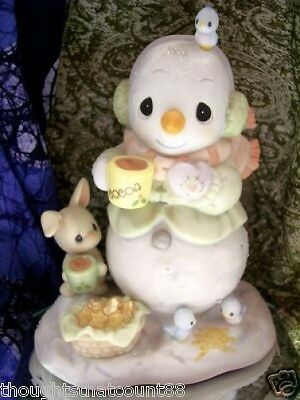 Precious Moments WARMEST WISHES FOR THE HOLIDAYS 112881 * FREE USA SHIPPING