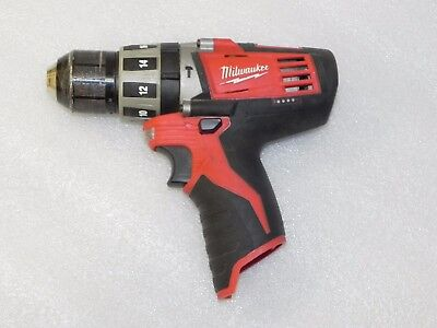 """Milwaukee 2411-20 Cordlesss 3/8"""" Hammer Hammer Drill M12 (TOOL ONLY) SHIPS FREE"""