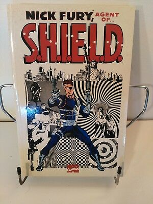 Nick Fury, Agent of SHIELD complete Jim Steranko, 2 vols. 4 page fold-out spread