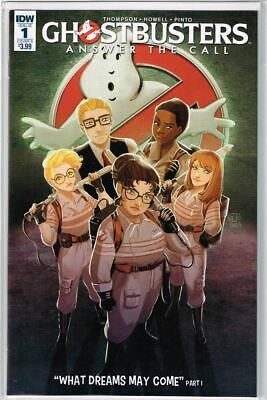 Ghostbusters Answer The Call #1 Cover B NM 2017 IDW - Vault 35