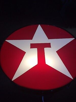 Vintage 25 inch Texaco Lighted Sign