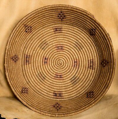 Indian Basket North American -- over 17 inches wide