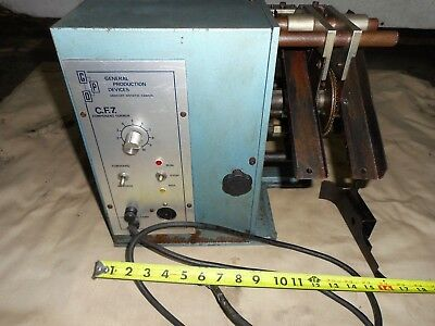 C.F.7. LEAD FORMER Component wire former bender machine
