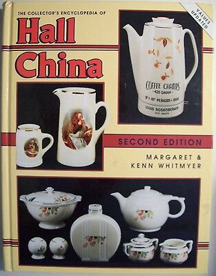 Antique Hall China Pottery $$$ id Price Guide Collector's Book