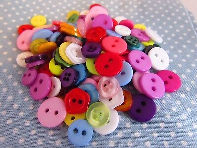 Small Button Assortment Pack Sizes of 10, 20, 50 & 100 and Buttons 8mm - 11mm