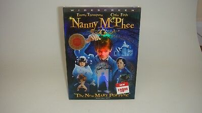 Nanny Mcphee-The New Mary Poppins Dvd-Widescreen-Sealed-New-
