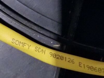 Liberty Wire 9020126 22/1T+14/1P Somfy Digital Network SDN Cable Riser Yel/100ft