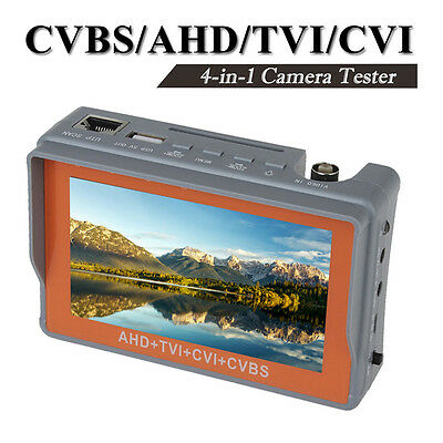 "4 in 1 Wrist 4.3"" CVBS/AHD/TVI/CVI CCTV Camera Test Display Monitor Tester Tool"