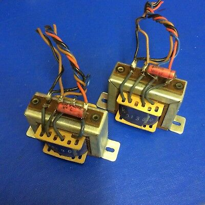 Vintage Matched Pair of SE Output Transformers