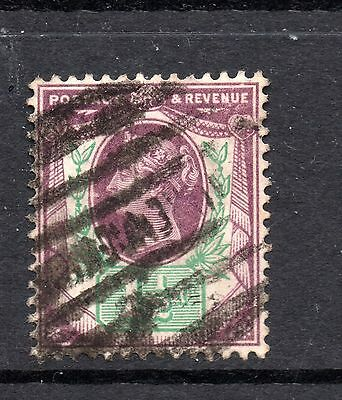 Great Britain (9916) Queen Victoria 1887  1.5d Dull Purple & Green used Sg198