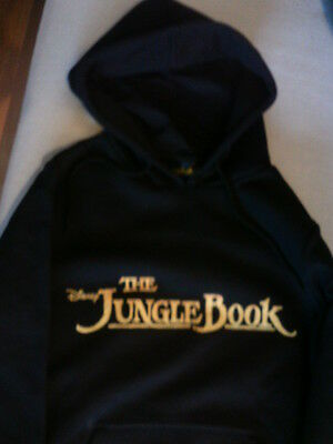 "NEU !!! ORIGINAL DISNEY ""THE JUNGLE BOOK""  Hoody S (bald M) OVP"