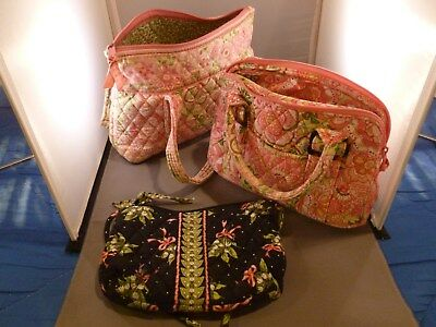 VERA BRADLEY LOT of THREE BAGS.