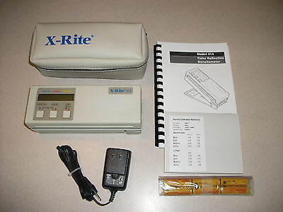 X-Rite 414 Color Reflection Densitometer - 1.7mm
