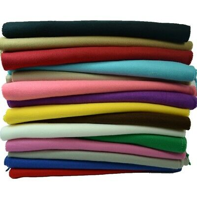 Men Women unisex 100% CASHMERE Warm PLAIN Scarf pure solid colored Wool SCOTLAND