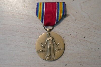 Vintage US Military World War II Victory Medal
