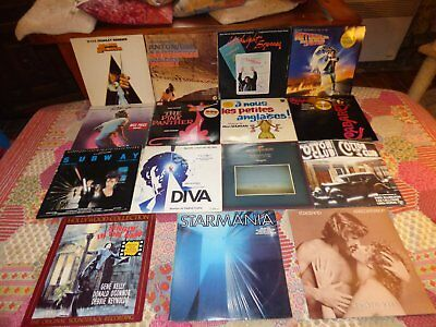 Lot De 41 Lp Musiques De Film (Orange Mecanique, Zabriskie Point, Starmania...)