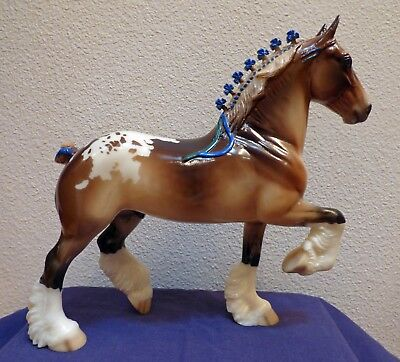 Peter Stone High Note Glossy Appy Trotting Drafter SR Only 45 Made COA Stunning