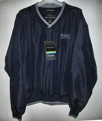 NWT - MERCY Health System - PAGE & TUTTLE - WIND & RAIN Sweatshirt Style JACKET