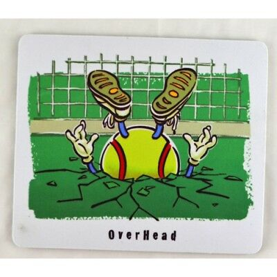 "Be The Ball ""OVER HEAD"" Mouse Pad"