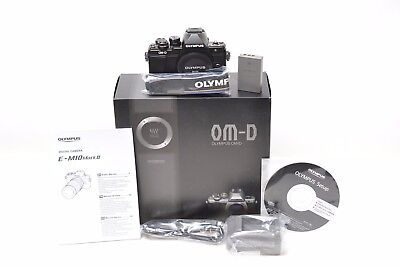 *Mint* Olympus OM-D E-M10 MARK II Body - Black - 85 Actuations 6 Month Warranty