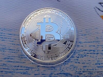 1 oz. 2016 BITCOIN Commemorative numbered proof round .999 fine silver