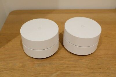 Google WiFi - Two Pack - 2x Units - Whole Home Wifi Routers