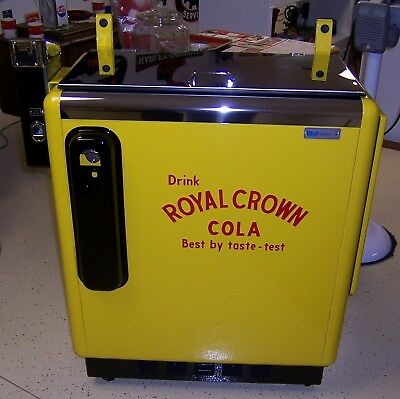 Ideal 55 Slider Embossed Royal Crown Cola -- Restored