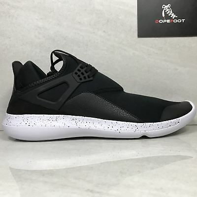 d75bb0540776 DS JORDAN FLY 89 Black White Size 14 2017 940267 010 -  85.49