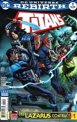 Titans #11 (Lazarus) Rebirth Dc Comics 5/10/17 Near Mint
