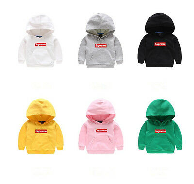 New Fashion Kids Boys/Girls Hoodies Lovely Cotton Letter Sweater Clothes 2T-7T