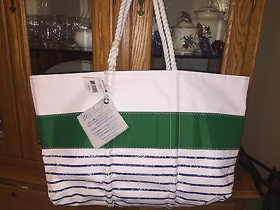 Sea Bags Maine For Sperry Large Breton Tote Multi, Msrp $180; Nwt
