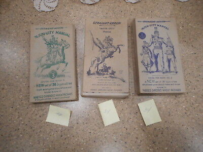 vtg nabisco shredded wheat straight arrow injun-uity cards