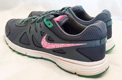 Nike Running Shoes Womens Size 9 554900 Nike Revolution 2 Running Shoes Leather