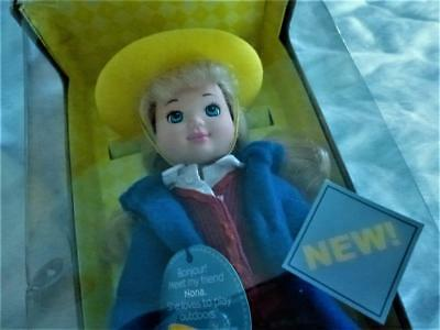 """Madeline's Friend Nona 8"""" Poseable Doll Learning Curve 2003 New Look Nib"""