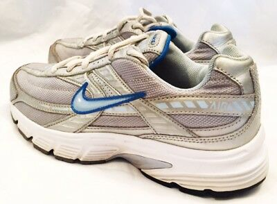 Nike Running Shoes Womens Size 6.5 Nike Initiator Running Shoes Gray and Blue