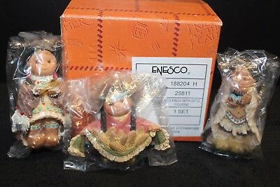 Enesco Friends of the Feather - 'Kings with Gifts' - #188204 - NIB