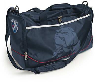 NEW Official Western Bulldogs Sports Bag