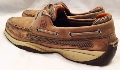 Sperry Boat Shoes Men Size 8.5 Sperry Top-Sider Lanyard 2 Eye Boat Shoes 0777924