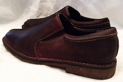 Johnstone & Murphy Tabor Shoes Mens Size 10.5 Loafer Shoes Slip On Brown Leather